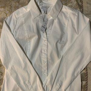 White House Black Market white dress shirt